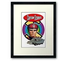 Captain Scarlet Ideal Birthday Gift Present Framed Print