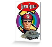 Captain Scarlet Ideal Birthday Gift Present Greeting Card