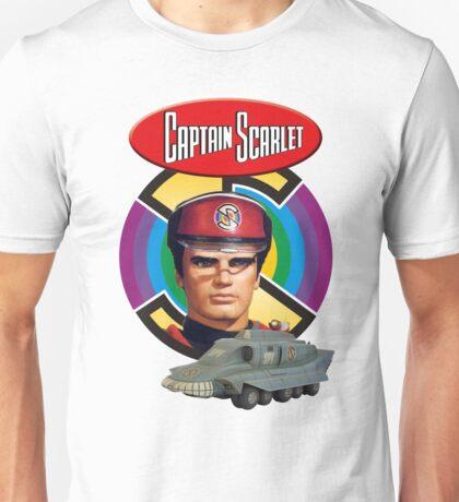 Captain Scarlet Ideal Birthday Gift Present Unisex T-Shirt