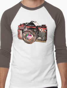Canon Men's Baseball ¾ T-Shirt