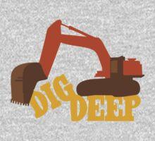 Dig Deep Gold Rush One Piece - Long Sleeve