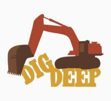 Dig Deep Gold Rush Kids Tee