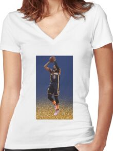 Paul George Indiana Pacers (T-shirt, Phone Case & more)  Women's Fitted V-Neck T-Shirt