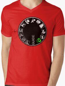 Manual Mode Mens V-Neck T-Shirt