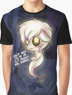 Undertale My Little Pony Nabstablook Graphic T-Shirt