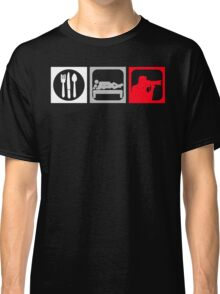 Eat, Sex, Shoot Classic T-Shirt