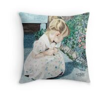 When Time Stops for a Moment - Wonderment Throw Pillow