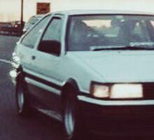 Toyota Corolla AE86 Sticker