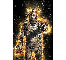 Doctor Who Exploding Cyberman Photographic Print
