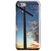 Isaiah 53:5 iPhone Case/Skin