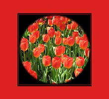 Scarlet Tulips - Keukenhof Gardens Womens Fitted T-Shirt