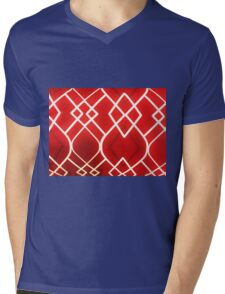 Red Diamond Reocurrence  Mens V-Neck T-Shirt