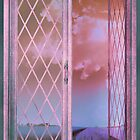 French Lavender Fields, Open Window Shabby Chic by Glimmersmith