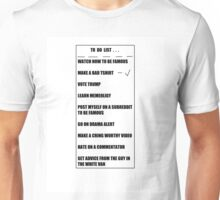 To Do List - Shirts Unisex T-Shirt