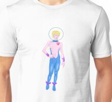 Pink Space Babe Unisex T-Shirt