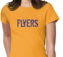 Scottish Flyers Ice Hockey Design Womens Fitted T-Shirt