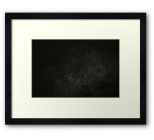 Cement Framed Print