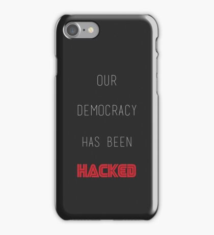 Mr Robot - Hacked iPhone Case/Skin