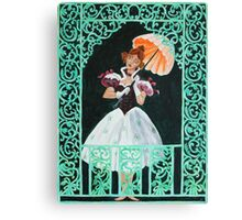 Tightrope Walk - The Haunted Mansion Canvas Print