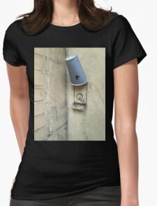 Paper cup Womens Fitted T-Shirt