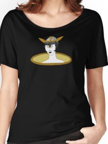 Cyclops Louise Brooks as Egyptian Valkyrie with All-Seeing Eye Women's Relaxed Fit T-Shirt