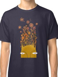 Psychedelic flower power Classic T-Shirt