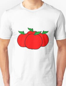 4 apples many group Unisex T-Shirt