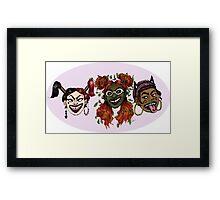 DC Grrrls - Villains Framed Print