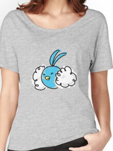 Don't feel 'blu Women's Relaxed Fit T-Shirt