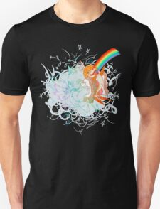 I Am Loved ( fish sandwich ) Black T-Shirt Unisex T-Shirt