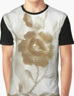 White flower with Ghost Guardians. Graphic T-Shirt