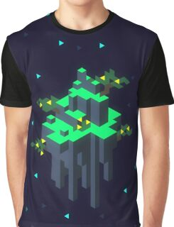 Space Island Graphic T-Shirt