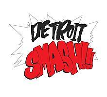 Detroit Smash Photographic Print