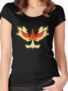 Phoenix 1 Women's Fitted Scoop T-Shirt