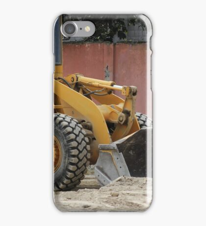 Heavy Construction Equipment iPhone Case/Skin