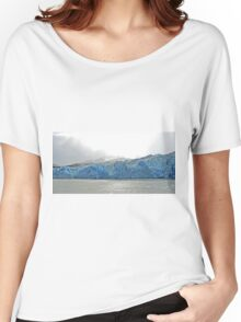 Grey Glacier Panorama Women's Relaxed Fit T-Shirt