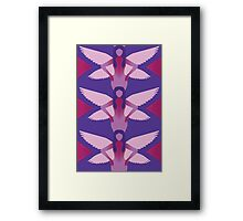 Purple Fairies Framed Print