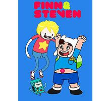 Adventure Time Finn & Steven Photographic Print