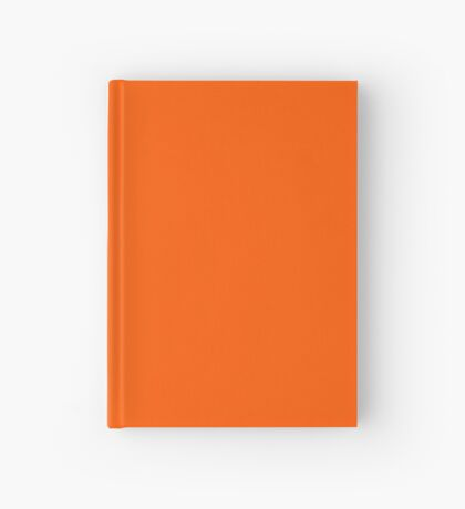 Orange Pantone Hardcover Journal