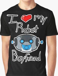 I <3 my Robot Boyfriend Graphic T-Shirt