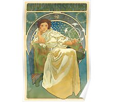 Princezna Nouveau Poster