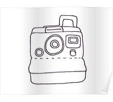Polaroid Camera Poster