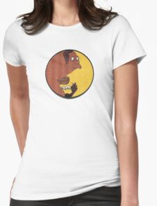 Carl and Lenny Womens Fitted T-Shirt