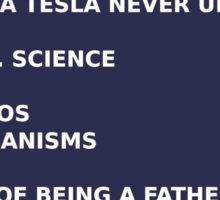 Science - Tesla Sticker
