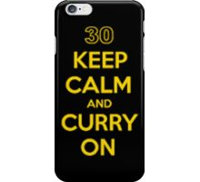 curry on! iPhone Case/Skin