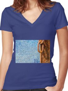 Rusty Link Women's Fitted V-Neck T-Shirt