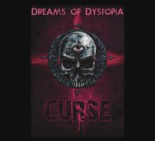 """Dreams of Dystopia Fan Shirt """"Curse"""" by Andreas Propst"""