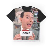 Pee Wee Herman - Come Graphic T-Shirt