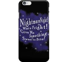 Nightmare Night iPhone Case/Skin