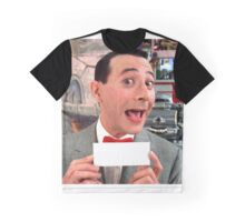 Pee Wee Herman - Write Your Own Graphic T-Shirt